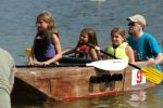 Highlight for Album: 2007 Library Cardboard Boat Races!